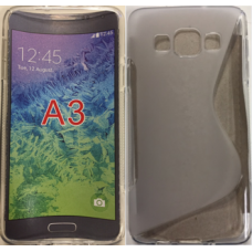 Samsung Galaxy A3 clear gel case