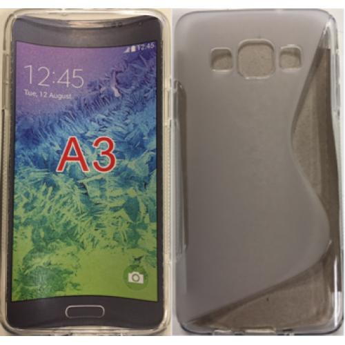 Samsung Galaxy A3 clear gel case