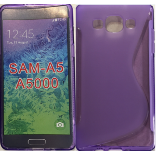 Samsung Galaxy A5 purple gel case