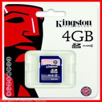 Memory card |Micro SD card 4GB
