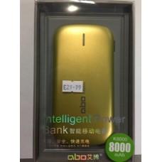 Intelligent Power Bank || 8000mah
