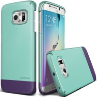 Samsung Galaxy S6 edge + spigen cases